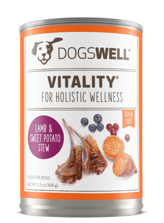 Vitality® Lamb & Sweet Potato Stew Dog Food