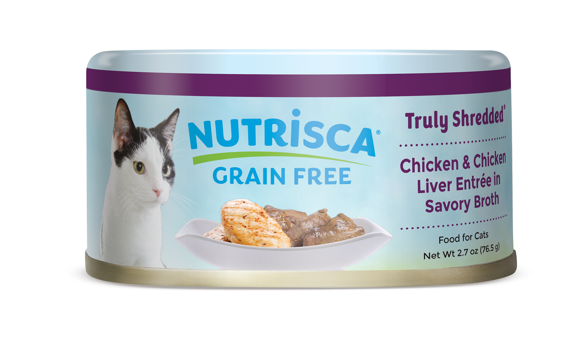 Truly shredded chicken chicken liver entre in savory broth nutrisca truly shredded chicken chicken liver entre in savory broth canned cat food forumfinder Images