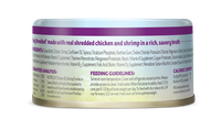 Nutrisca® Truly Shredded® Chicken & Shrimp Entrée In Savory Broth Canned Cat Food