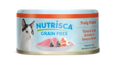 Nutrisca® Truly Flaked® Tuna & Crab Entrée In Savory Broth Canned Cat Food