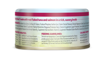 Nutrisca® Truly Flaked® Tuna & Salmon Entrée In Savory Broth Canned Cat Food