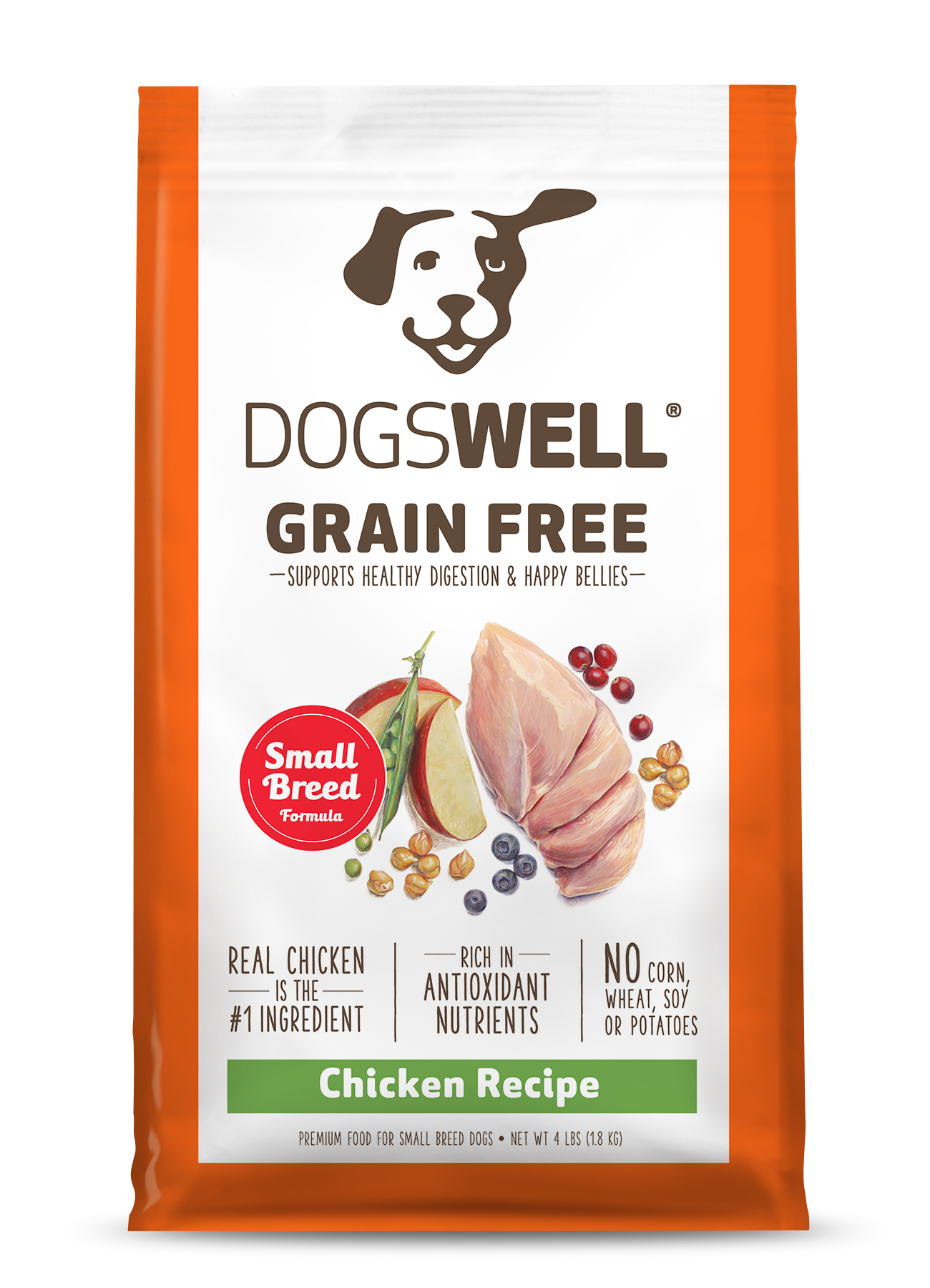Dry Dog Food Without Corn Or Wheat