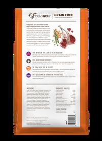 NEW Dogswell® Grain Free Adult Lamb Recipe