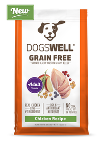 NEW Dogswell® Grain Free Adult Chicken Recipe