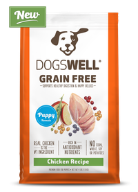 NEW Dogswell® Grain Free Puppy Chicken Recipe
