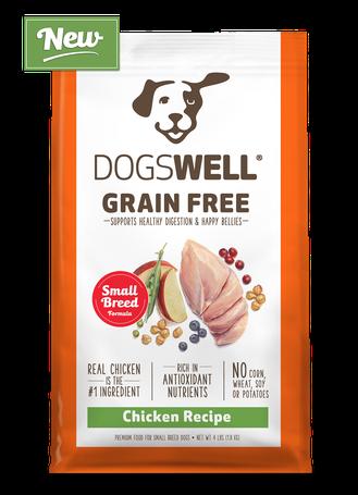 NEW Dogswell® Grain Free Small Breed Chicken Recipe
