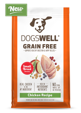 NEW Dogswell® Grain Free Small Breed Chicken Recipe