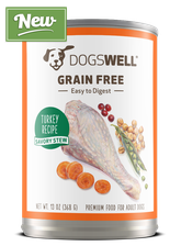 NEW Dogswell® Grain Free Savory Stew Turkey Recipe