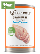 NEW Dogswell® Grain Free Puppy Premium Loaf Chicken Recipe