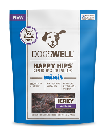 Happy Hips® Jerky MINIS Duck Recipe Treats