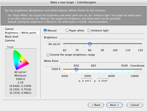 Special calibration software bundled