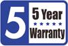 5-letnia gwarancja