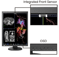 Easy Calibration with Integrated Front Sensor