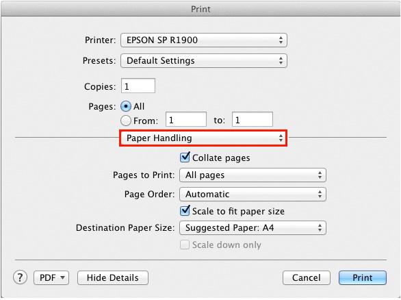 paper handling