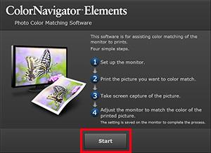 Start ColorNavigator Elements