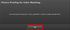 Picture Printing for Color Matching