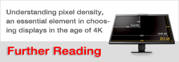 Confused about HiDPI and Retina display? ― Understanding pixel density, an essential element in choosing displays in the age of 4K