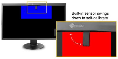 built-in sensor