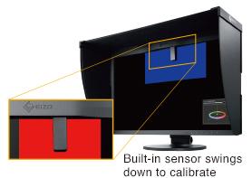 built in sensor