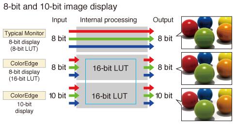 10bitd display