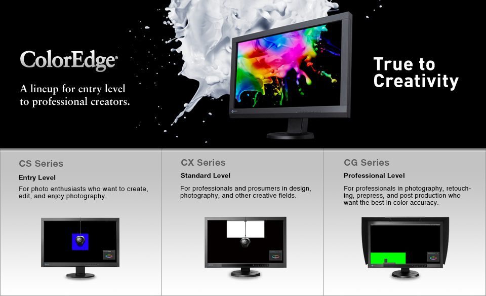 ColorEdge lineup