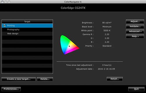 CN CG247X target setting window