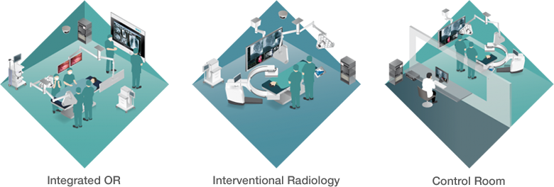 Integrated OR, Interventional Radiology, Control Room