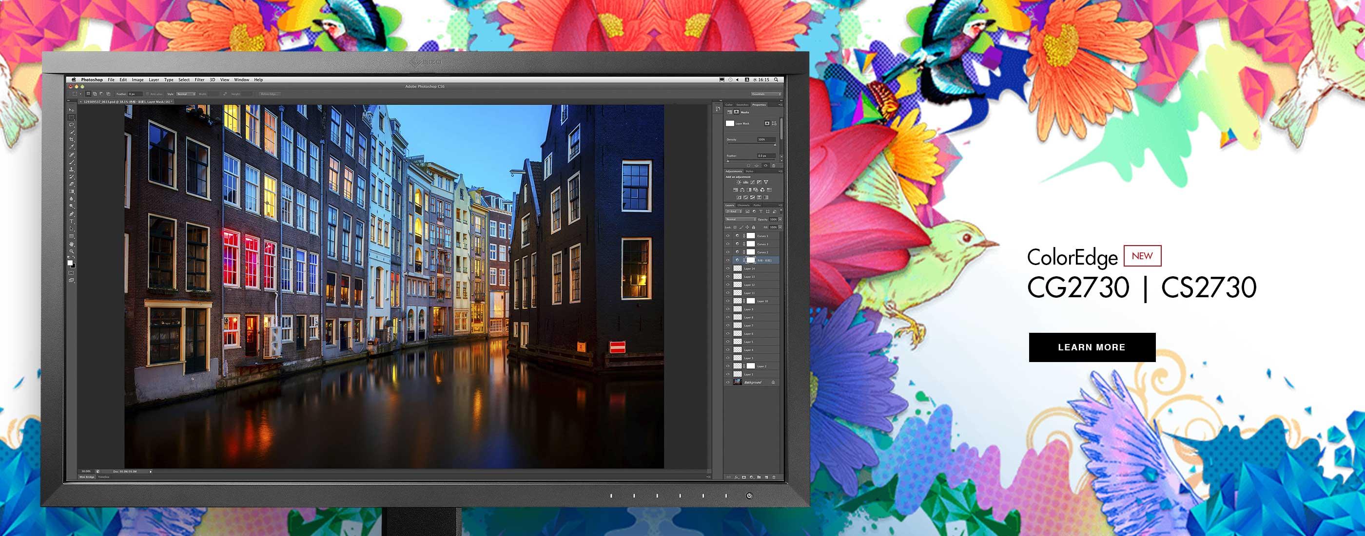 ColorEdge CG2730 / CS2730. Precision beyond color.
