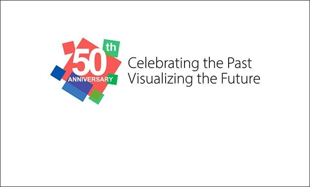 EIZO's 50th Anniversary