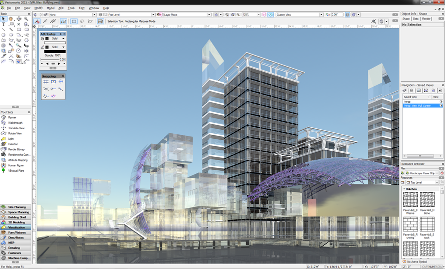 Designer Software by Vectorworks