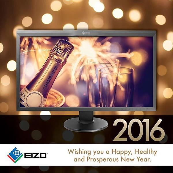 Happy New Year from all of us at EIZO.