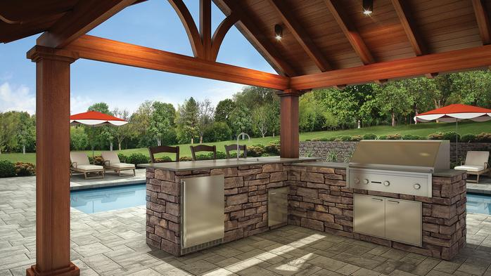 Signature kitchens for Eldorado outdoor kitchen