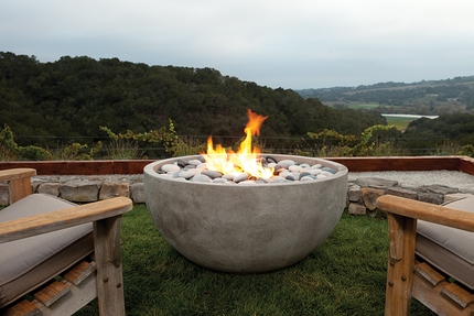The Infinite Artisan Fire Bowl