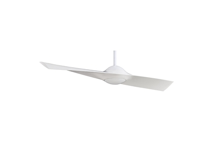 "Wing - 52"" Ceiling Fan - White Motor Finish with White Blades"