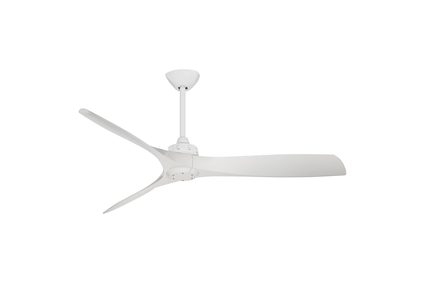 "Aviation - 60"" Ceiling Fan - White Motor Finish with White Blades"