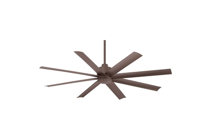 "Slipstream - 65"" Ceiling Fan - Oil Rubbed Bronze Motor Finish with Oil Rubbed Bronze Blades"