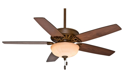 "Concentra Gallery - 54"" Ceiling Fan - Acadia Finish with Reversible Walnut / Burnt Walnut Blades"