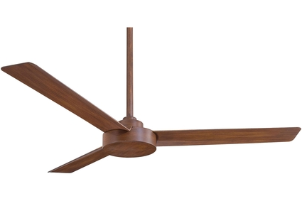 "Roto - 52"" Ceiling Fan - Distressed Koa Motor Finish with Distressed Koa Blades"