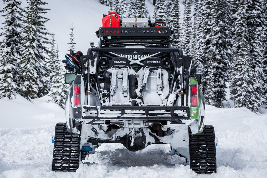 Snow Plow For Chevy Colorado Ken Block's Ford Raptortrax Goes On Video Mission For Its Backcountry ...