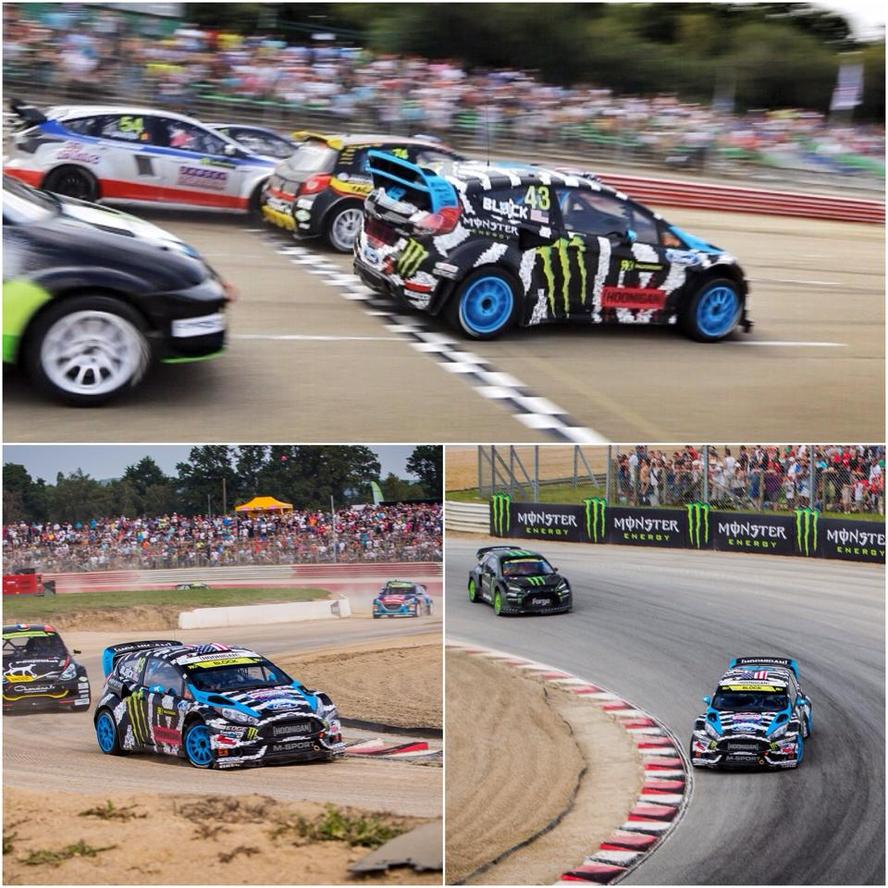 Ken Block returned to WorldRX action for his second outing this season, entering into the French round of the 2014 calendar in Loheác, France.
