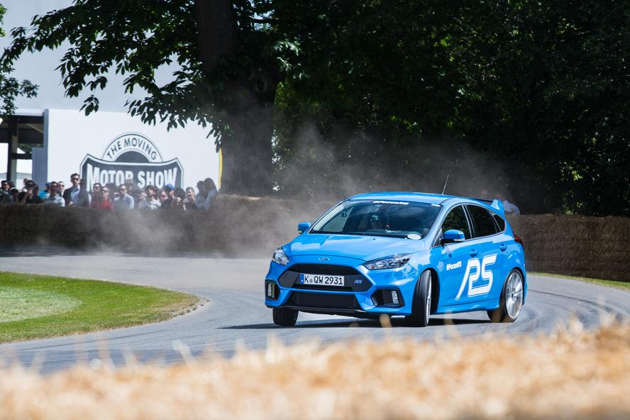 Ken Block tears up Lord March's Goodwood estate in a 2016 Ford Focus RS