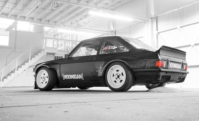 Ken Block and Hoonigan Industries are proud to introduce Block's first-ever, rear-wheel-drive Gymkhana machine, Block's Ford Escort Mk2 RS.