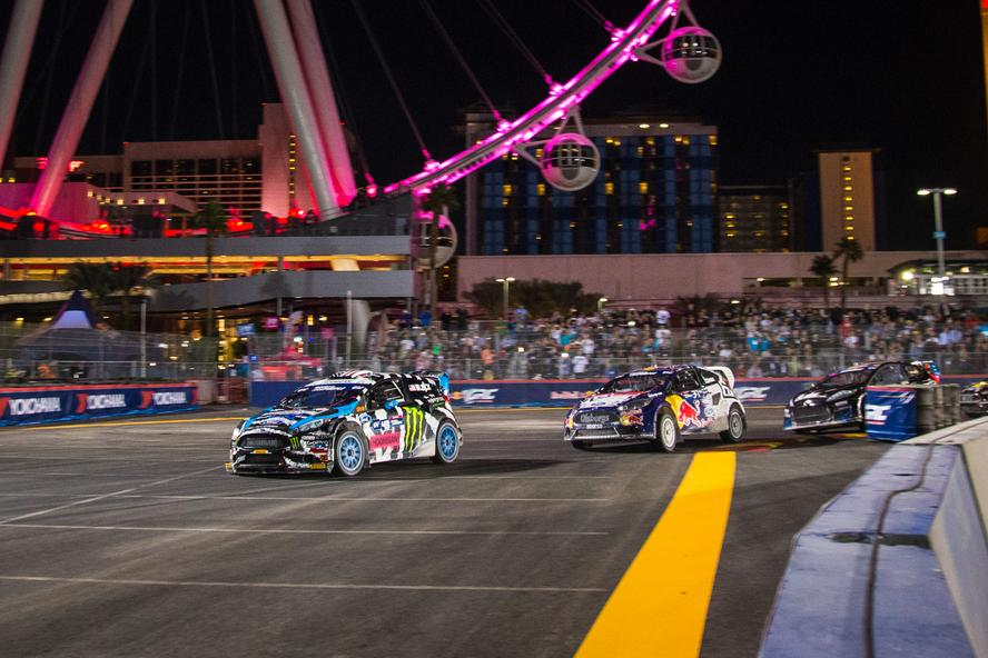Ken Block at GRC Las Vegas 2014