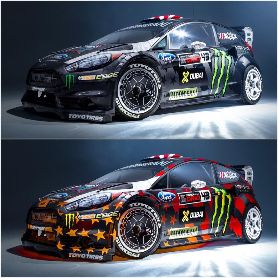 Ken Block's Gymkhana EIGHT livery revealed