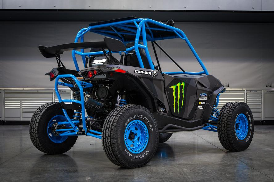When it was announced earlier this year that HRD's Ken Block would become a brand ambassador for Can-AM, it was pretty obvious that the HHIC wouldn't keep his Maverick X RS Turbo and Maverick MAX RS Turbo stock for too long.