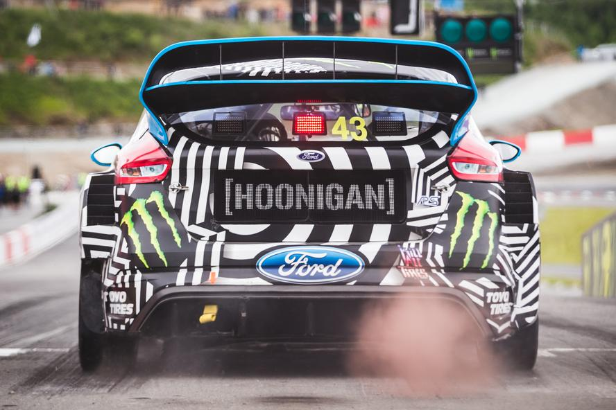 BAKKERUD WINS NORWAY WORLD RX AND SETS RECORDS IN FIRST-EVER WIN FOR THE ALL NEW FORD FOCUS RS RX