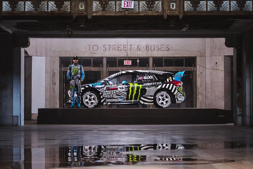 It's an historic year for Hoonigan Racing Division's Ken Block and his Gymkhana series. Only six months after the release of Gymkhana Eight, set in Dubai UAE, Block returns with Gymkhana NINE: Raw Industrial Playground, live now on Hoonigan's Youtube account. The video returns the professional rallycross driver's hugely popular, 400+million view viral video franchise to its original roots, letting the pure, raw driving action take center stage once again. Co-starring alongside Block, is the all-new Ford Focus RS RX that he competes with in the FIA World Rallycross Championship.