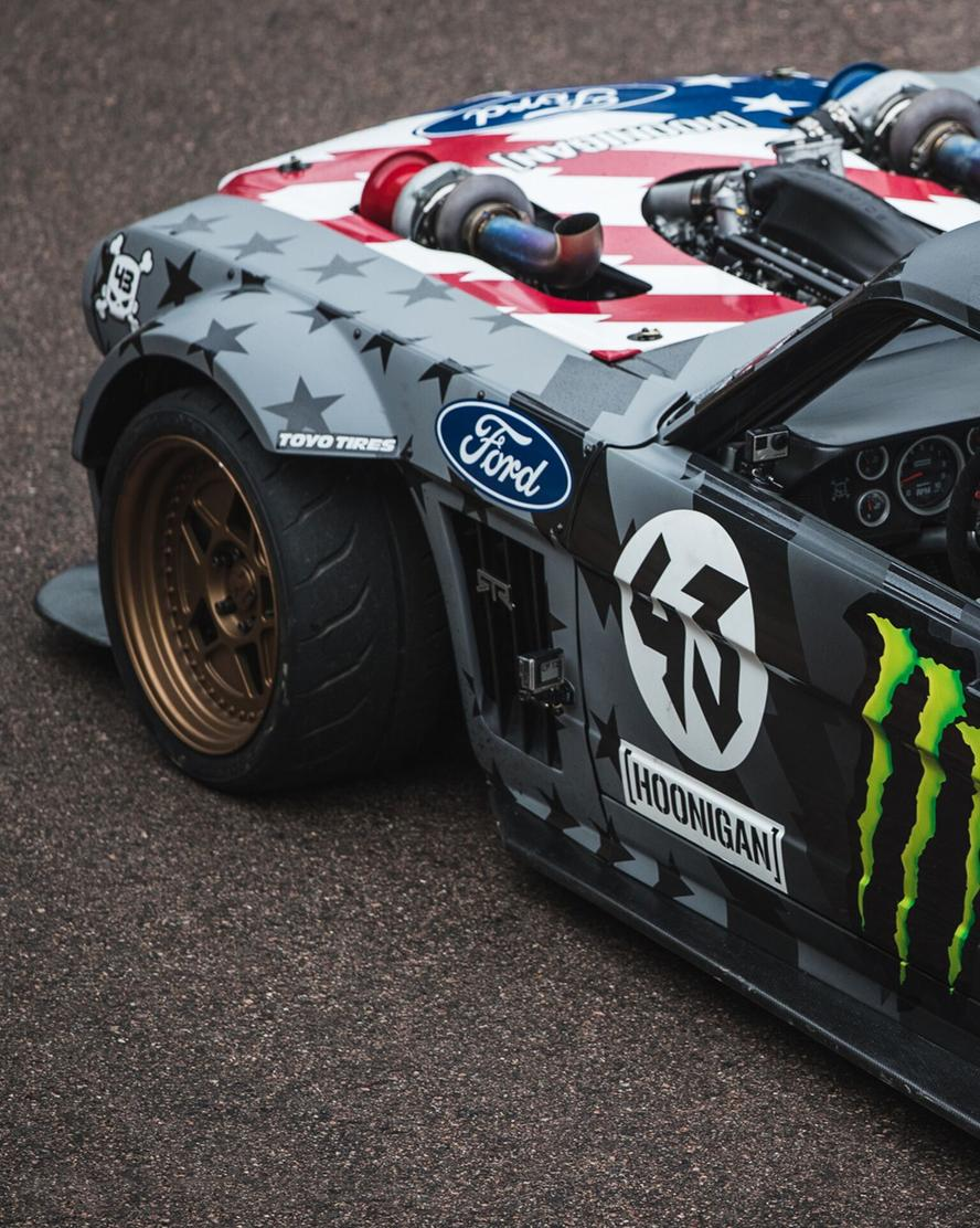 Last week, Ken Block debuted his recently upgraded 1965 Ford Mustang Hoonicorn RTR V2, now featuring a twin turbo, methanol power, 1,400 horsepower V8 engine. This week, in conjunction with presenting partner Toyo Tires, the World Rallycross driver is pleased to announce the purpose of the Hoonicorn update: a new film series entitled Climbkhana.