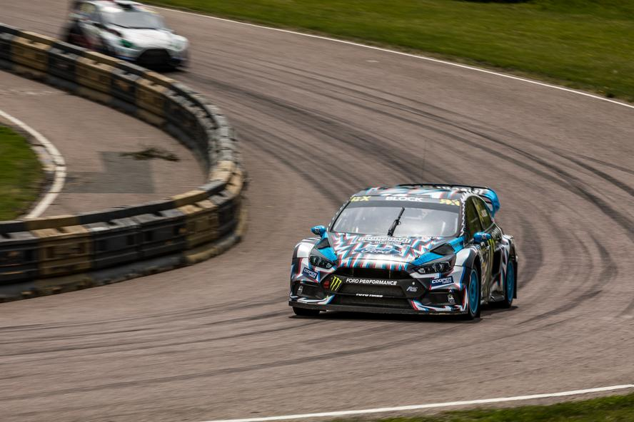 HRD's Ken Block and Andreas Bakkerud had their best race weekend of the 2017 World RX Championship to-date, during Round 5 at Lydden Hill in the U.K.