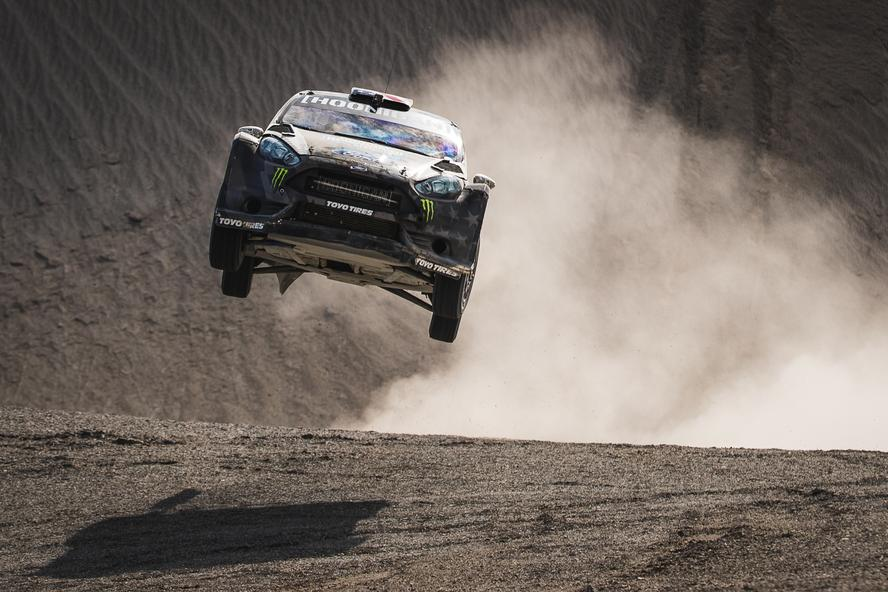 "Terrakhana is Ken Block's second spinoff from his hugely successful Gymkhana franchise of videos (the first being Climbkhana, which drops in September), where he will now take the style of driving he performs in his Gymkhana videos and bring it to massive areas of natural landscapes, aka ""terra."""